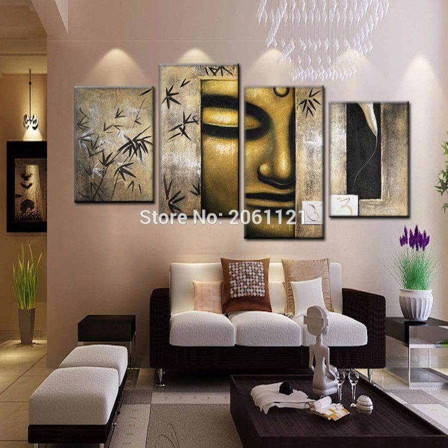 Aliexpress : Buy Handmade Cheap Large Modern Abstract Bronze Intended For Large Inexpensive Wall Art (Image 3 of 20)