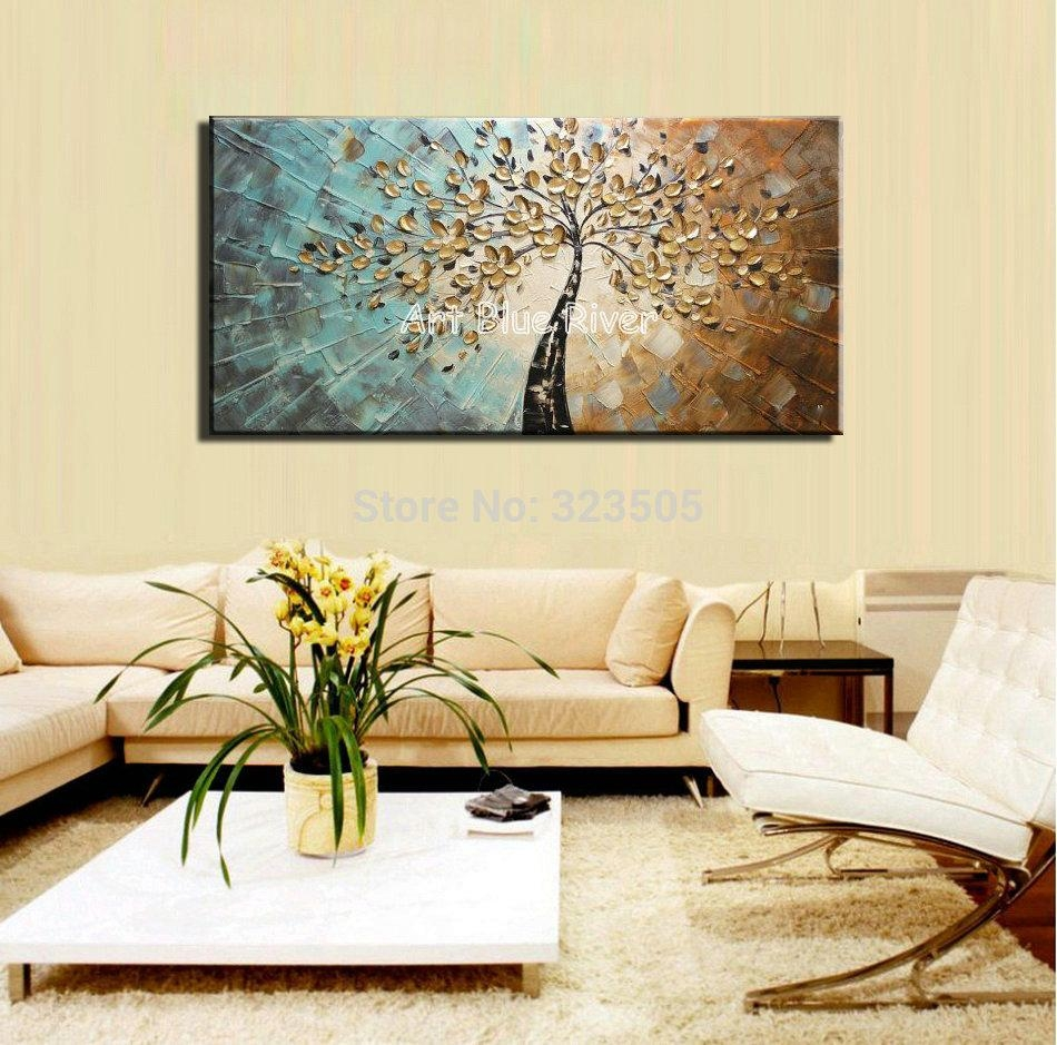 Aliexpress : Buy Large Abstract Canvas Wall Art Decorative Inside Oversized Abstract Wall Art (View 16 of 20)