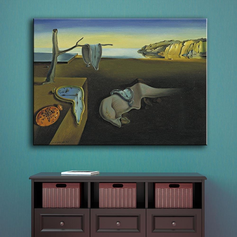 Aliexpress : Buy Large Size Print Oil Painting Wall Painting Regarding Salvador Dali Wall Art (Image 3 of 20)