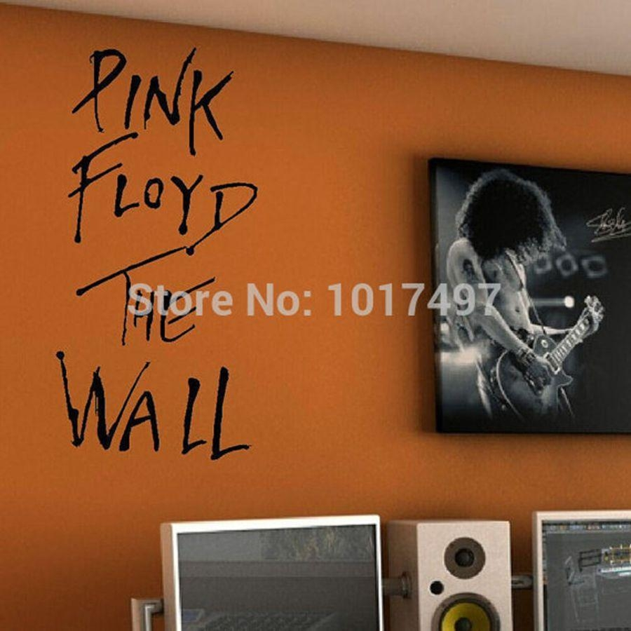 "Aliexpress : Buy ""pink Floyd The Wall"" Vinyl Wall Sticker Regarding Music Lyrics Wall Art (View 7 of 20)"