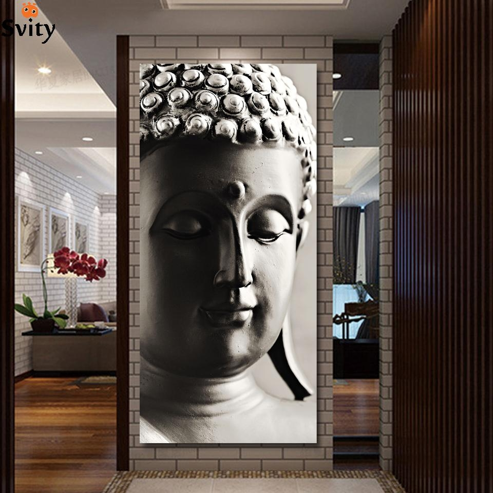 Aliexpress : Buy Special Chinese Styles Painting Silver Buddha For Silver Buddha Wall Art (Image 2 of 20)