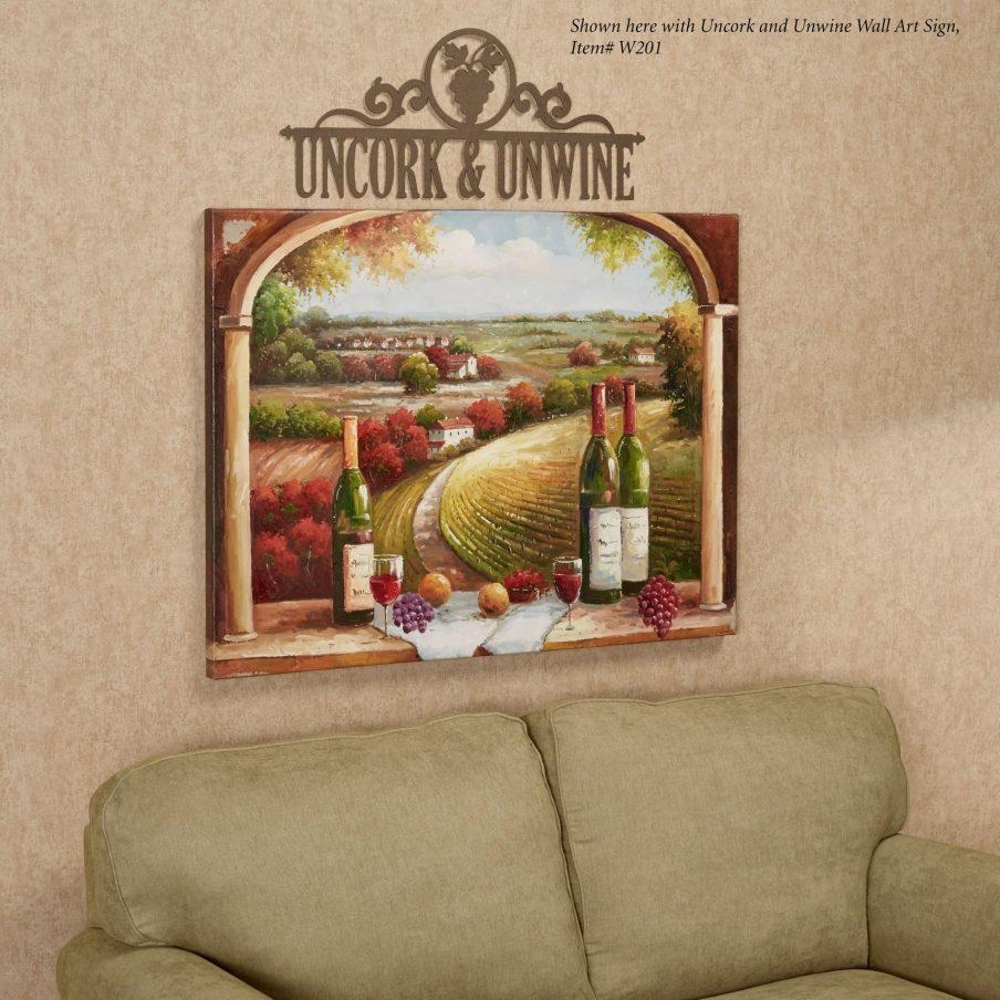 Amazing Tuscan Wall Art Kitchen Tuscan Charm Canvas Wall Wall Intended For Tuscan Wall Art Decor (View 17 of 20)