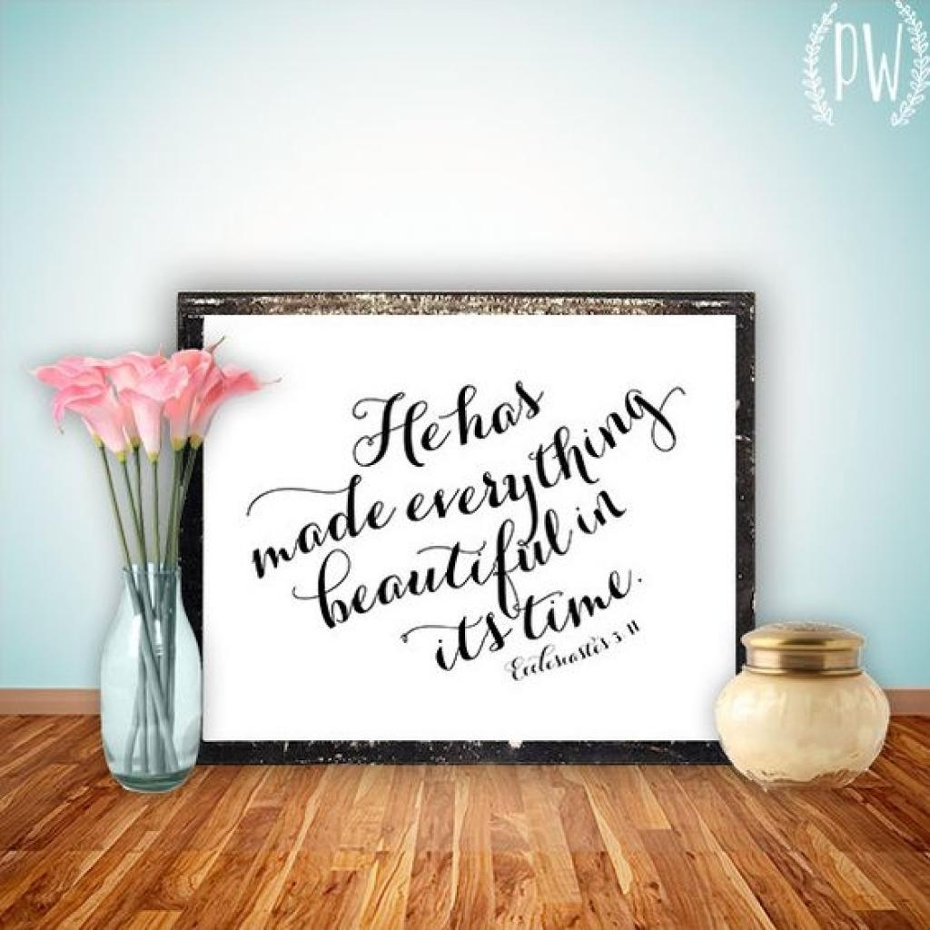 Amezing Bible Verses | Home Interior Wall Decoration Intended For Bible Verses Framed Art (View 20 of 20)
