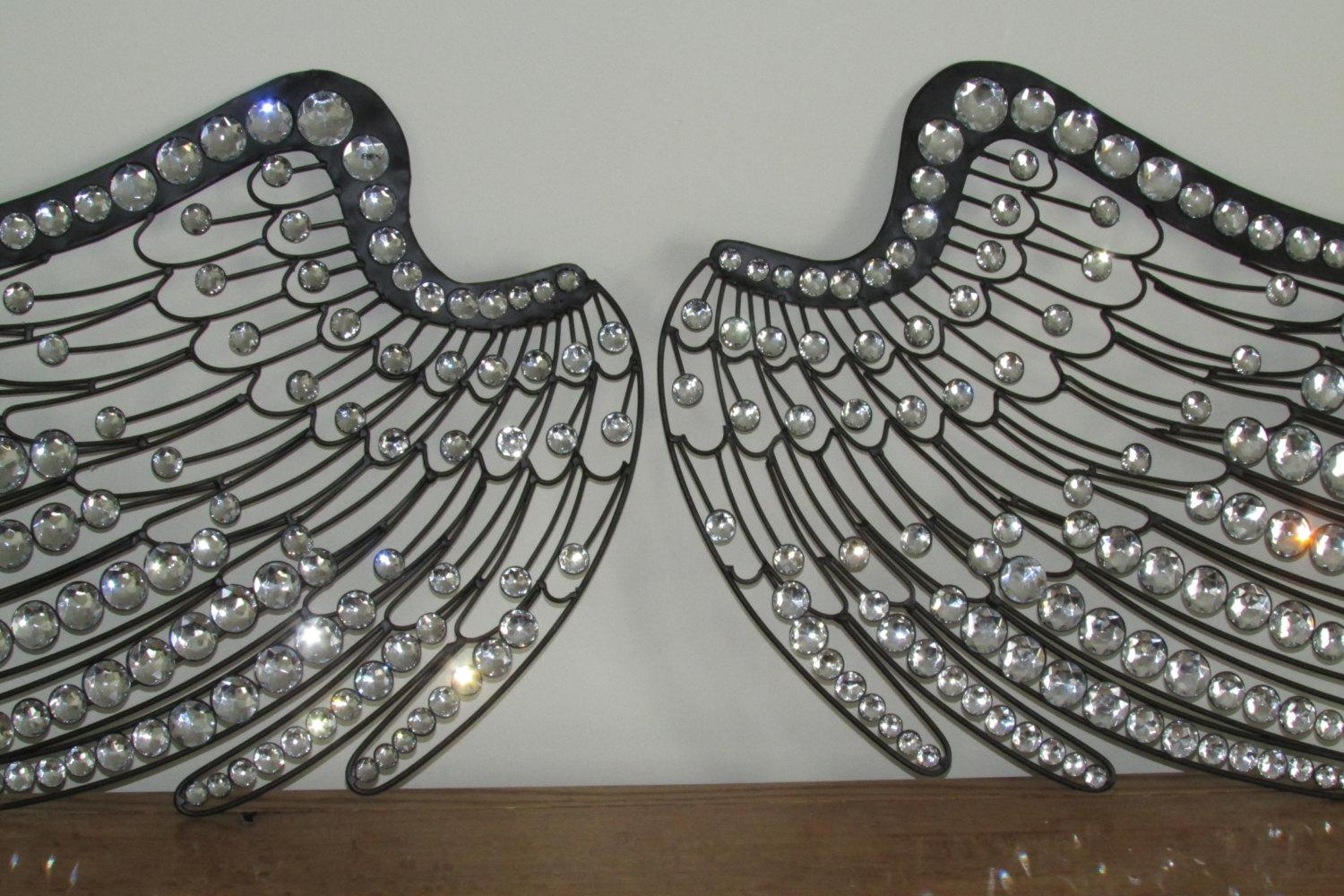 Angel Wings Wall Decor Art Galleries In Angel Wing Wall Decor Pertaining To Angel Wings Wall Art (Image 7 of 20)
