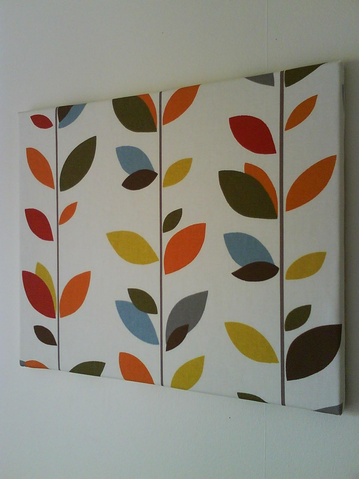 Anminternational: Colourful Multi Stem Fabric Canvas Wall Art For Fabric Canvas Wall Art (View 8 of 20)