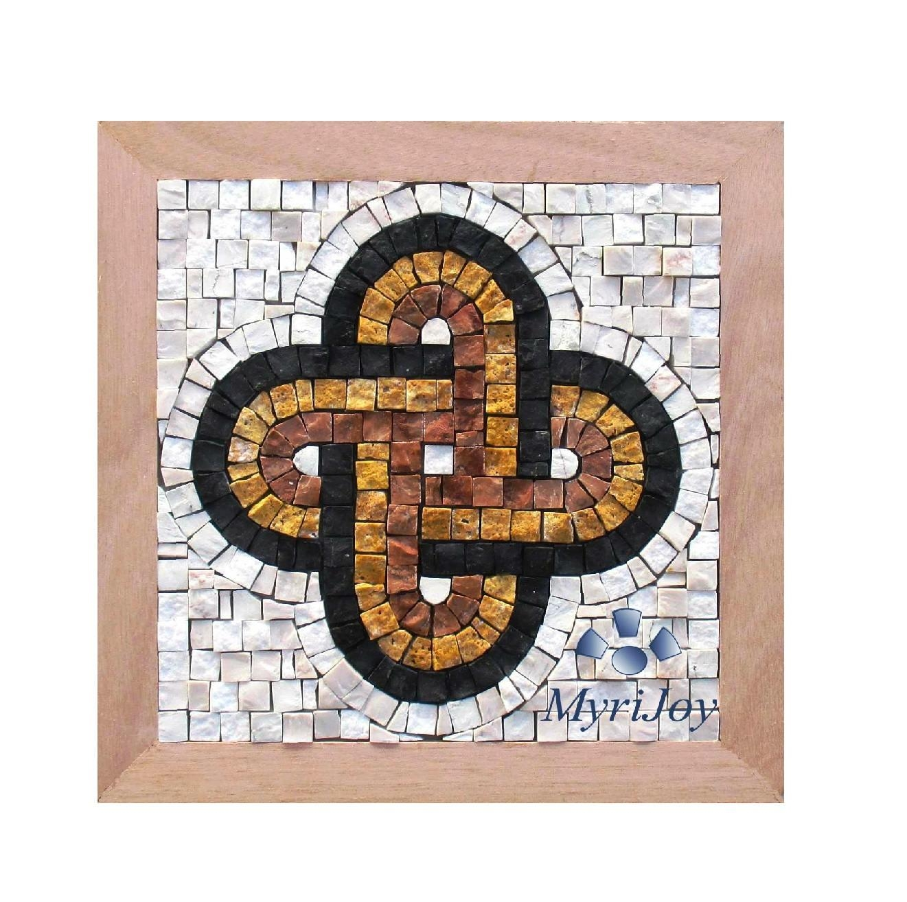 "Anniversary Diy Gift Mosaic Kit Solomon's Knot 9""x9"" Mosaic Wall Inside Mosaic Art Kits For Adults (Image 7 of 20)"