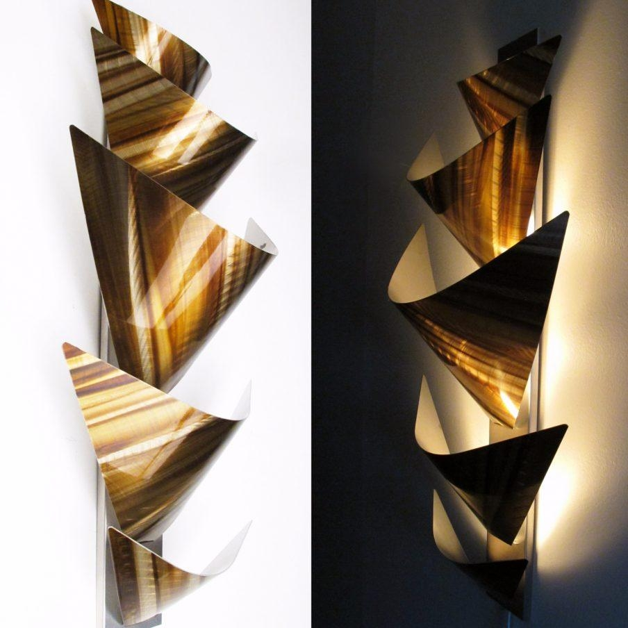 Appealing Contemporary Metal Wall Art Diamante Mirror Awesome In Contemporary Metal Wall Art Sculpture (Image 1 of 20)