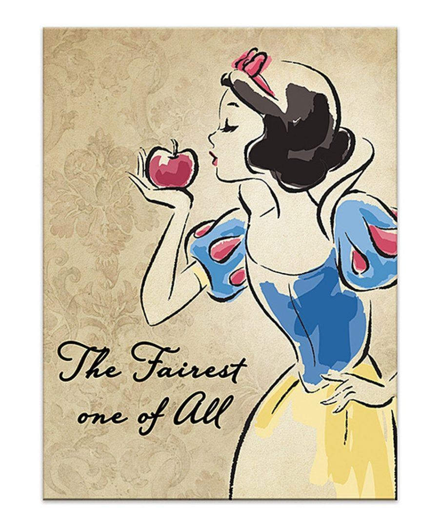 Appealing Disney Princess Canvas Wall Art Fashionista Aurora For Disney Princess Framed Wall Art (Image 3 of 20)