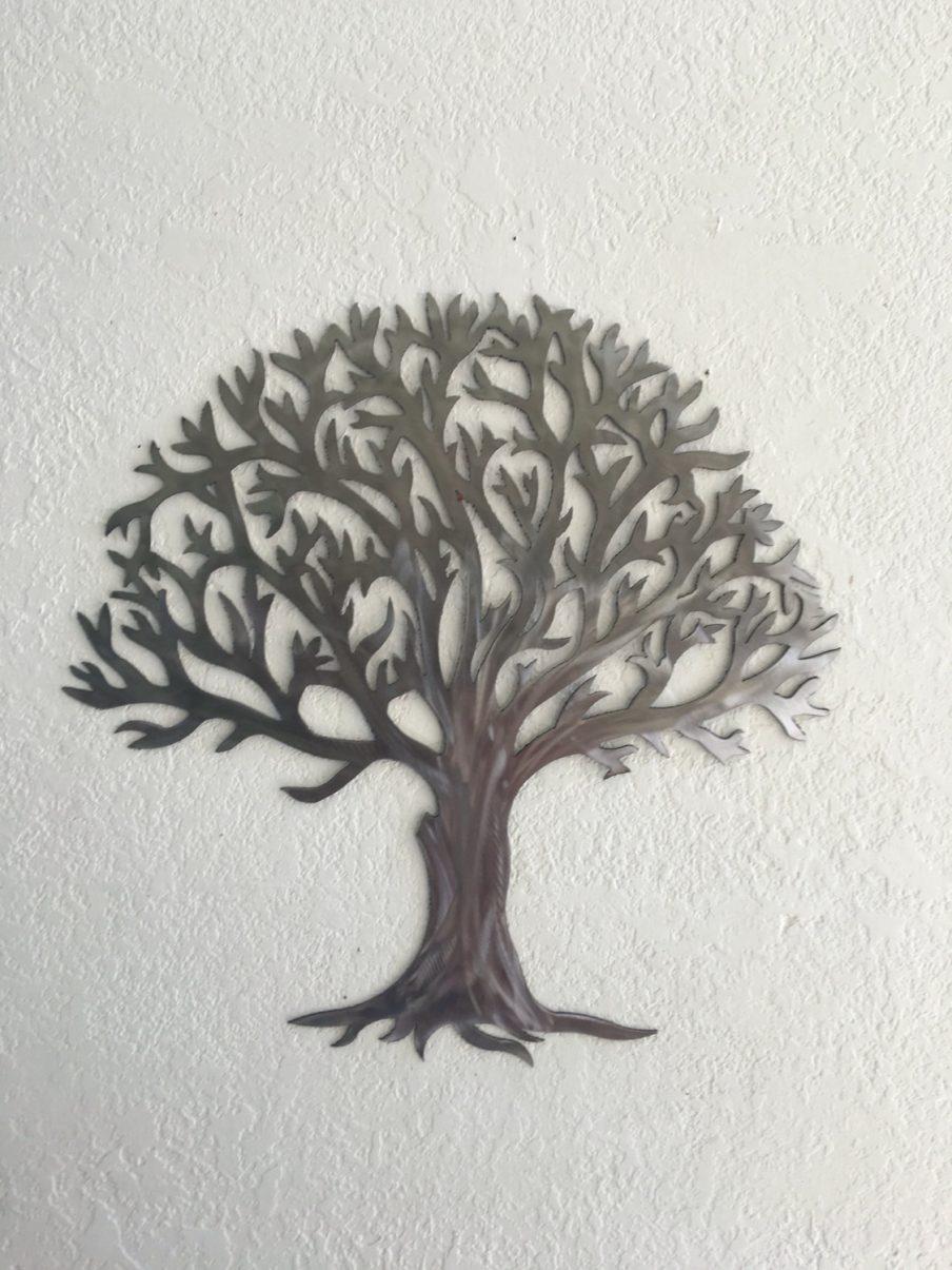 Appealing Oak Tree Large Metal Wall Art Hover To Zoom Extra Large Throughout Oak Tree Metal Wall Art (Image 2 of 20)