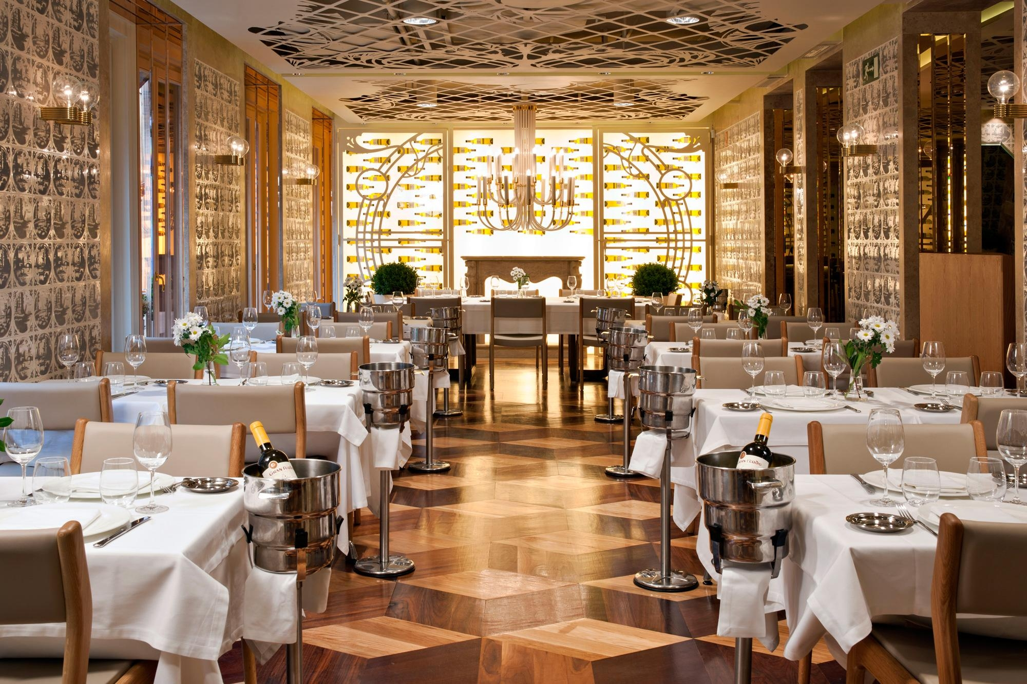 Architecture Artistic Home Interior Design Fantastic Restaurant Within Art Nouveau Wall Decals (View 3 of 20)
