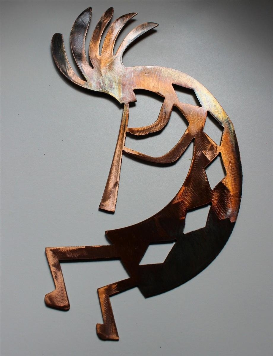 "Arizona Kokopelli Metal Wall Art Decor Style 4 (17"") Regarding Kokopelli Metal Wall Art (Image 7 of 20)"