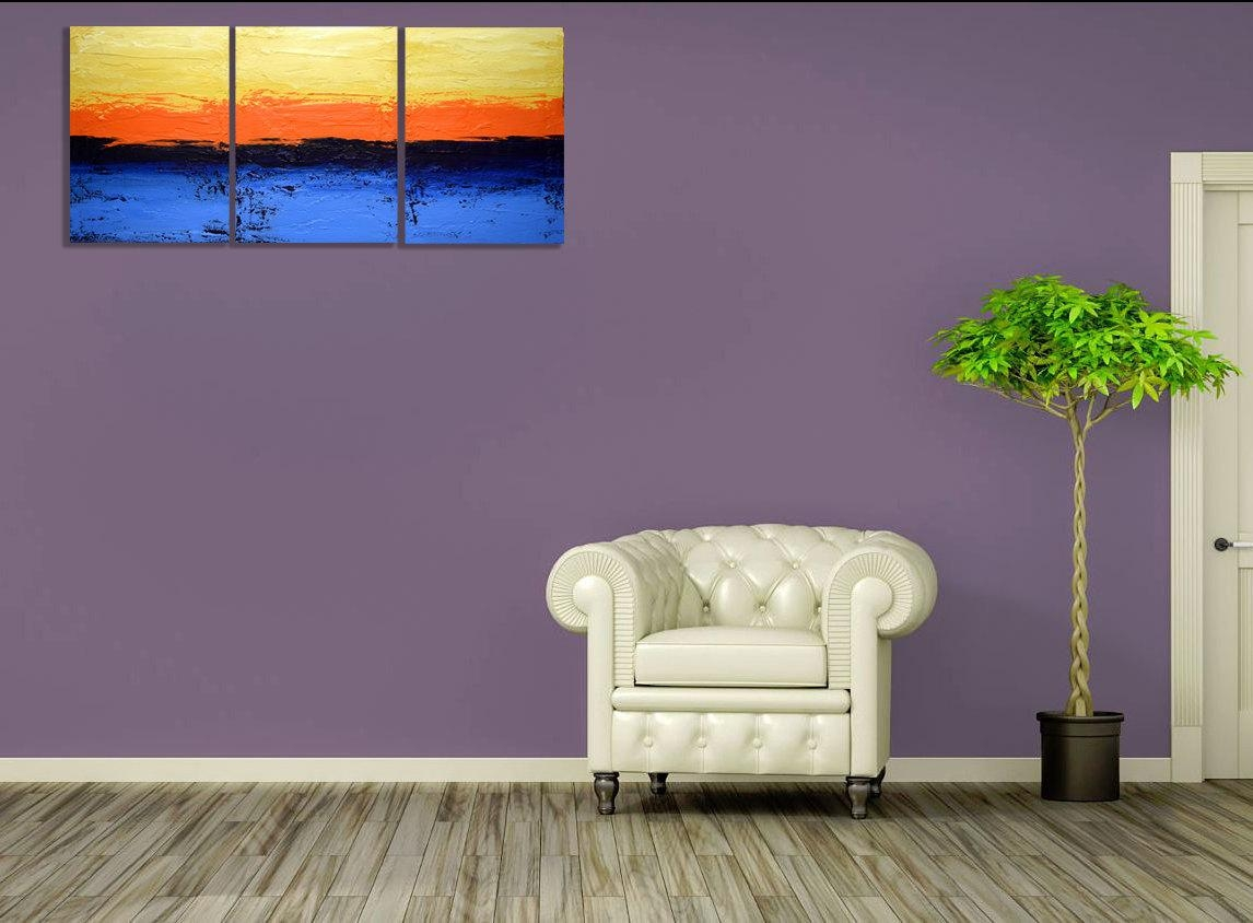 Art Canvas Depository — Extra Large Wall Art Triptych 3 Panel Wall For 48X48 Canvas Wall Art (View 20 of 20)