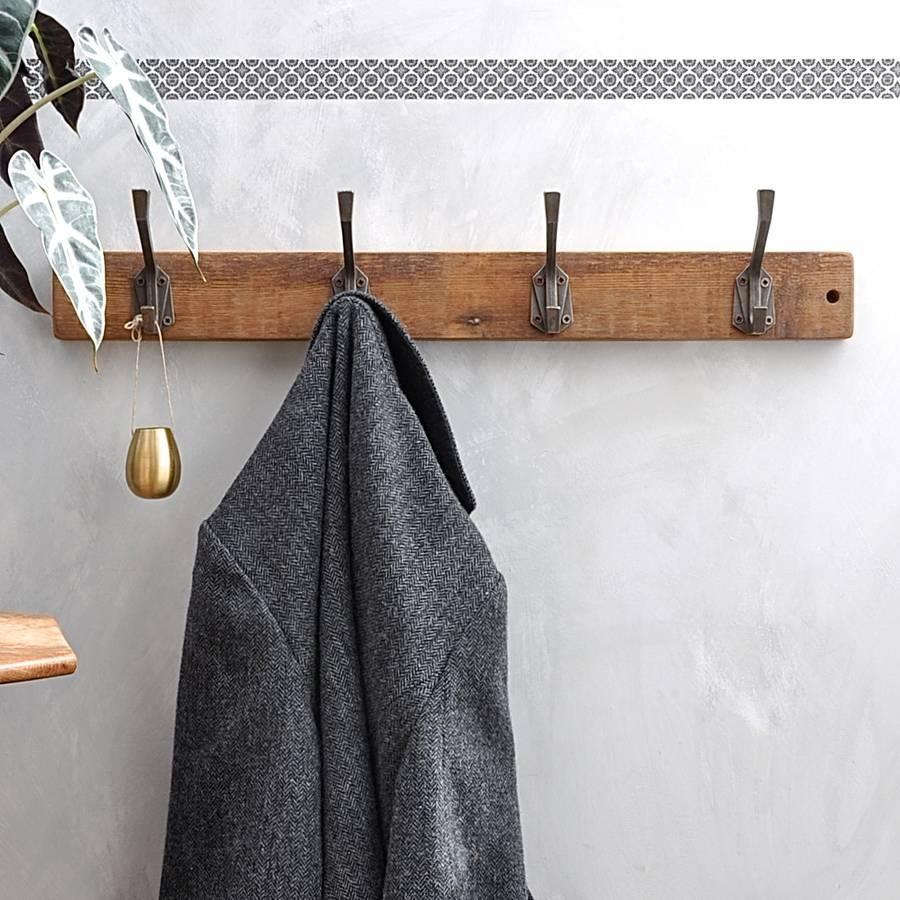 Art Deco Coat Hookindustrialdesign | Notonthehighstreet Regarding Wall Art Coat Hooks (View 11 of 20)
