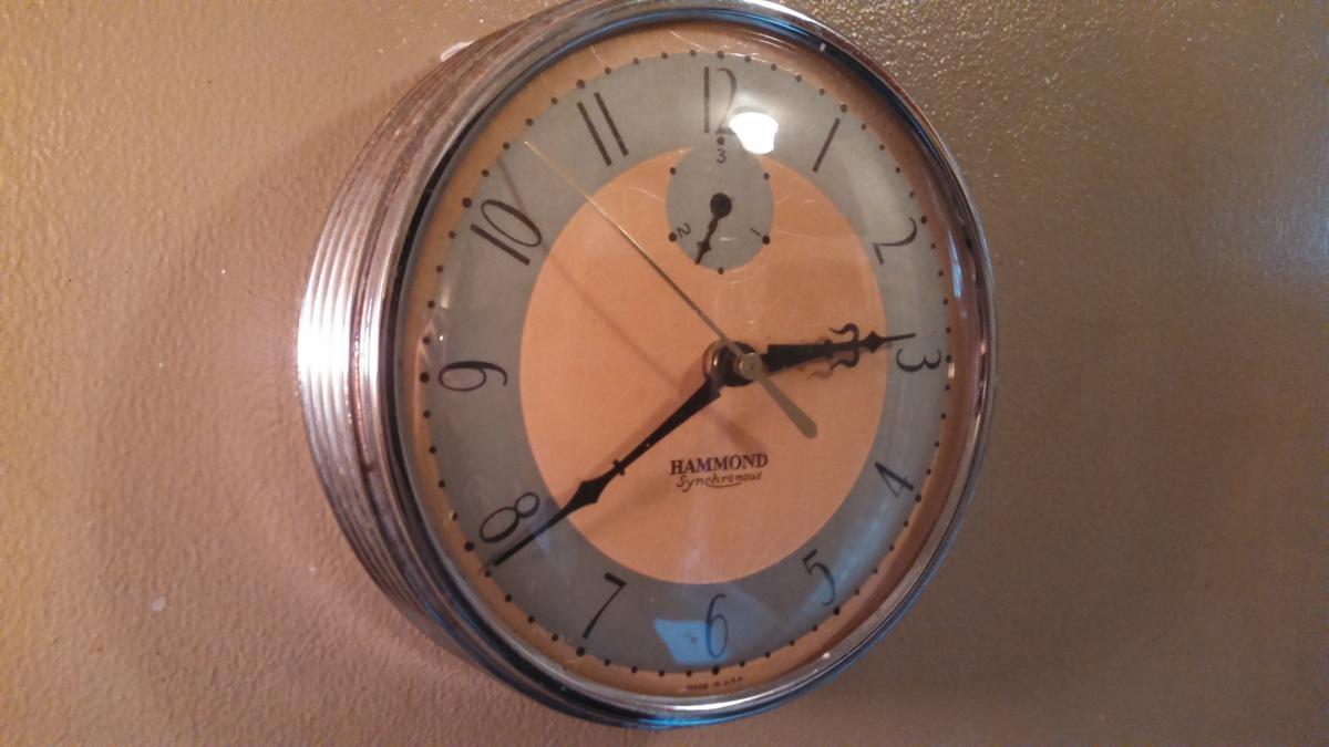 Art Deco Hammond Wall Clock | Collectors Weekly In Art Deco Wall Clocks (Image 3 of 20)