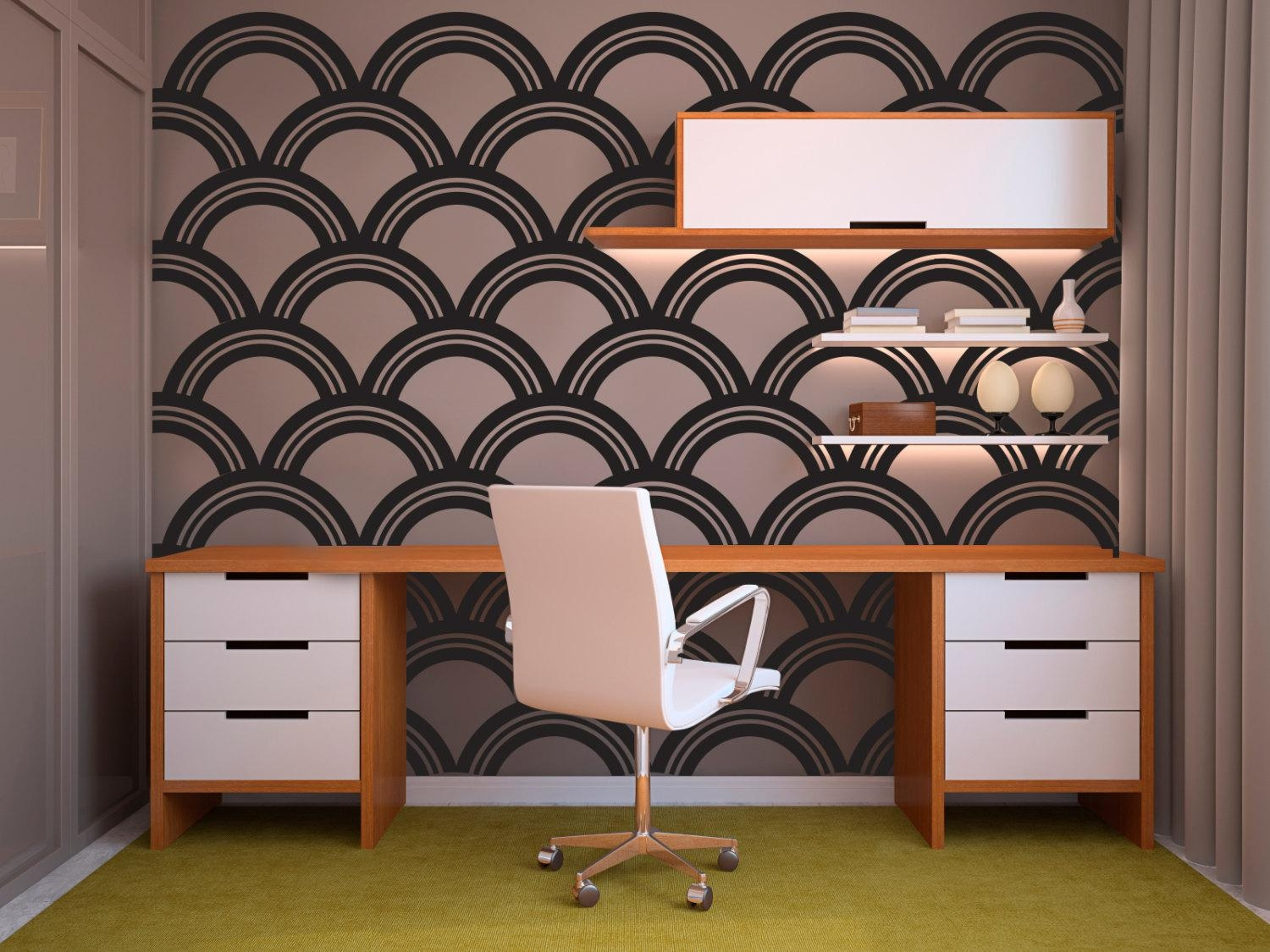 Featured Photo of Art Deco Wall Decals
