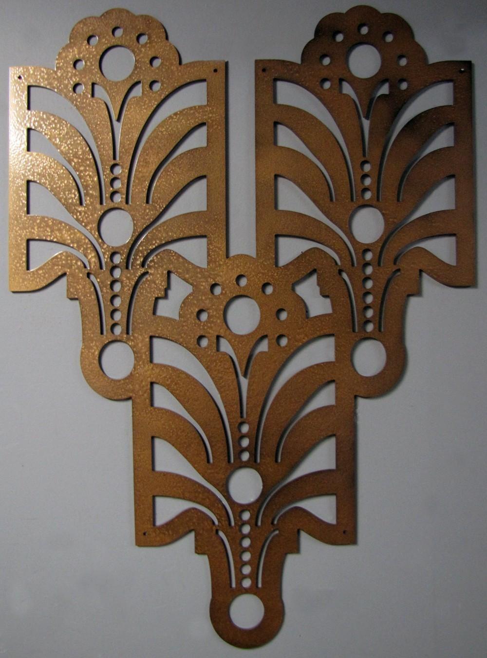 Art Deco Wall Art Luxury Metal Wall Art For Abstract Wall Art With Regard To Art Deco Metal Wall Art (View 2 of 20)