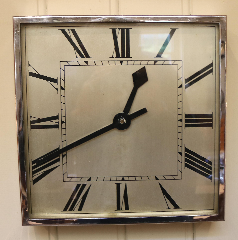 Art Deco Wall Clock (C (Image 4 of 20)