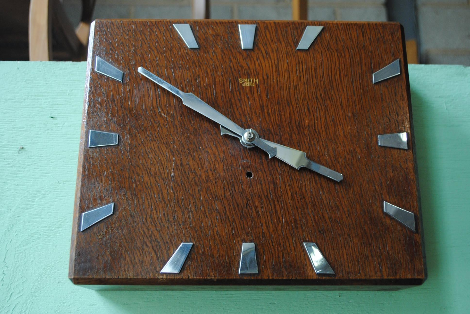 Art Deco Wall Clock || Cloud 9, Art Deco Furniture Sales Intended For Art Deco Wall Clocks (Image 6 of 20)