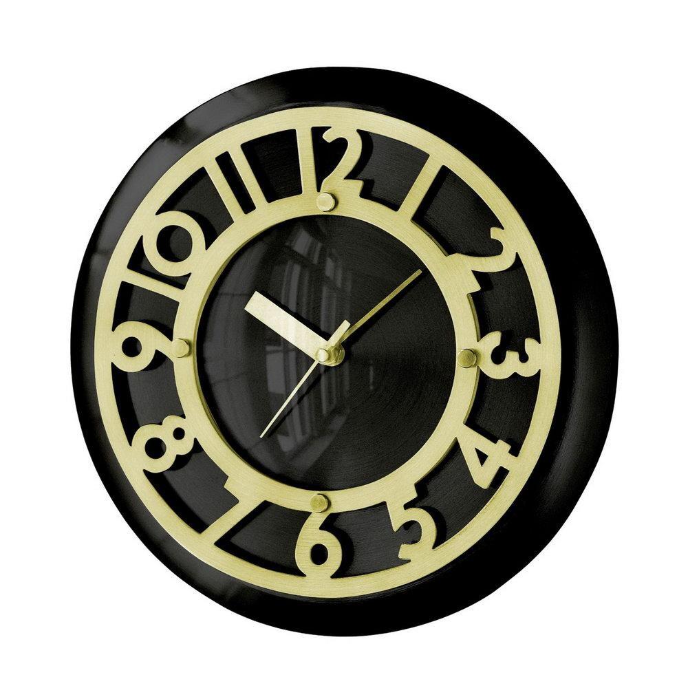 Art Deco Wall Clock   Roselawnlutheran Regarding Large Art Deco Wall Clocks (Image 2 of 20)