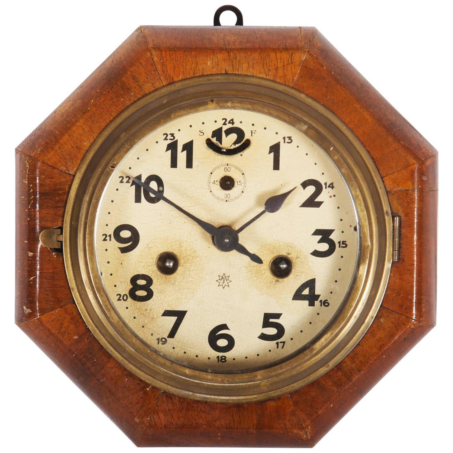 Art Deco Wall Clocks – 22 For Sale At 1Stdibs Pertaining To Art Deco Wall Clocks (View 13 of 20)