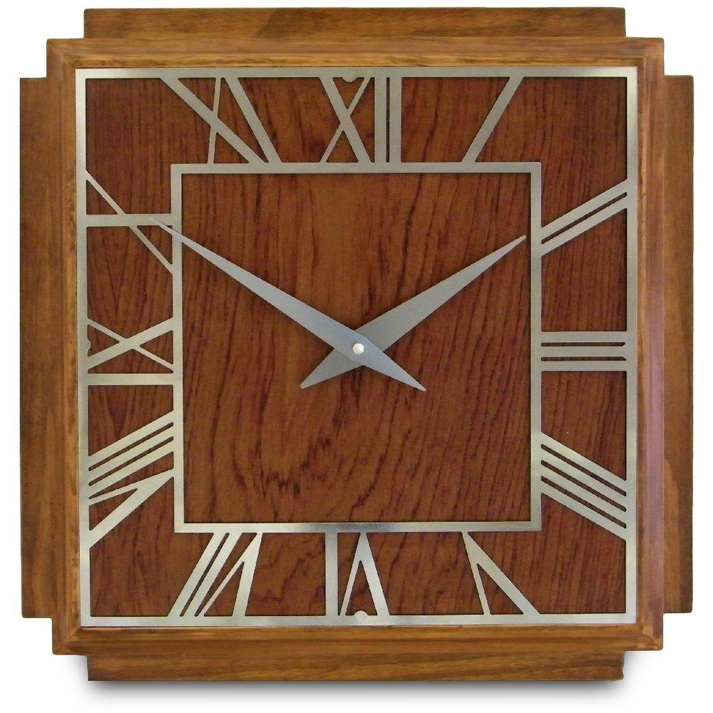 Art Deco Wall Clocks | Over 100 Wall Clocks To Choose From, All Inside Art Deco Wall Clocks (Image 8 of 20)