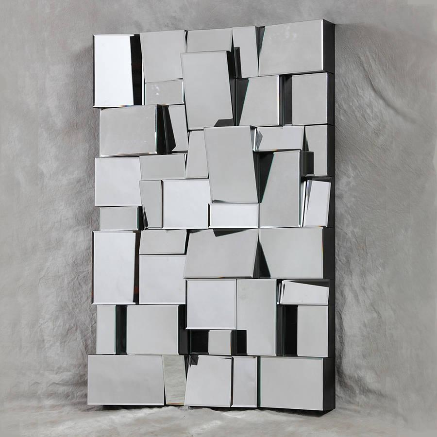 Art Deco Wall Mirror – Interior4You With Modern Mirrored Wall Art (Image 5 of 20)