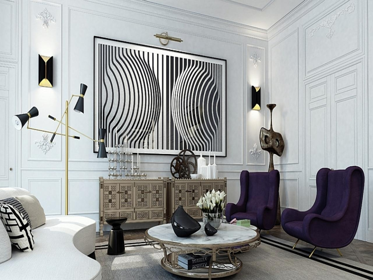 Art For Apartment Walls, Black And White Paris Wall Art (Image 5 of 20)