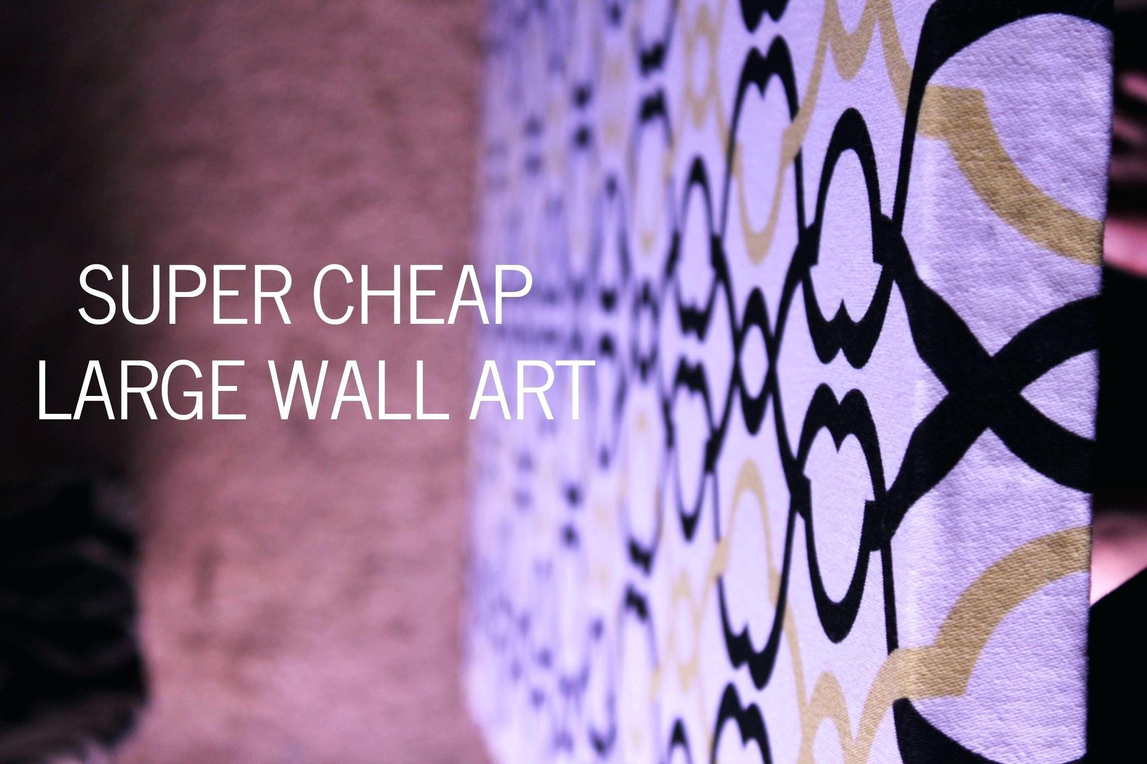 Art For Large Walls – Bookpeddler Throughout Large Inexpensive Wall Art (Image 4 of 20)