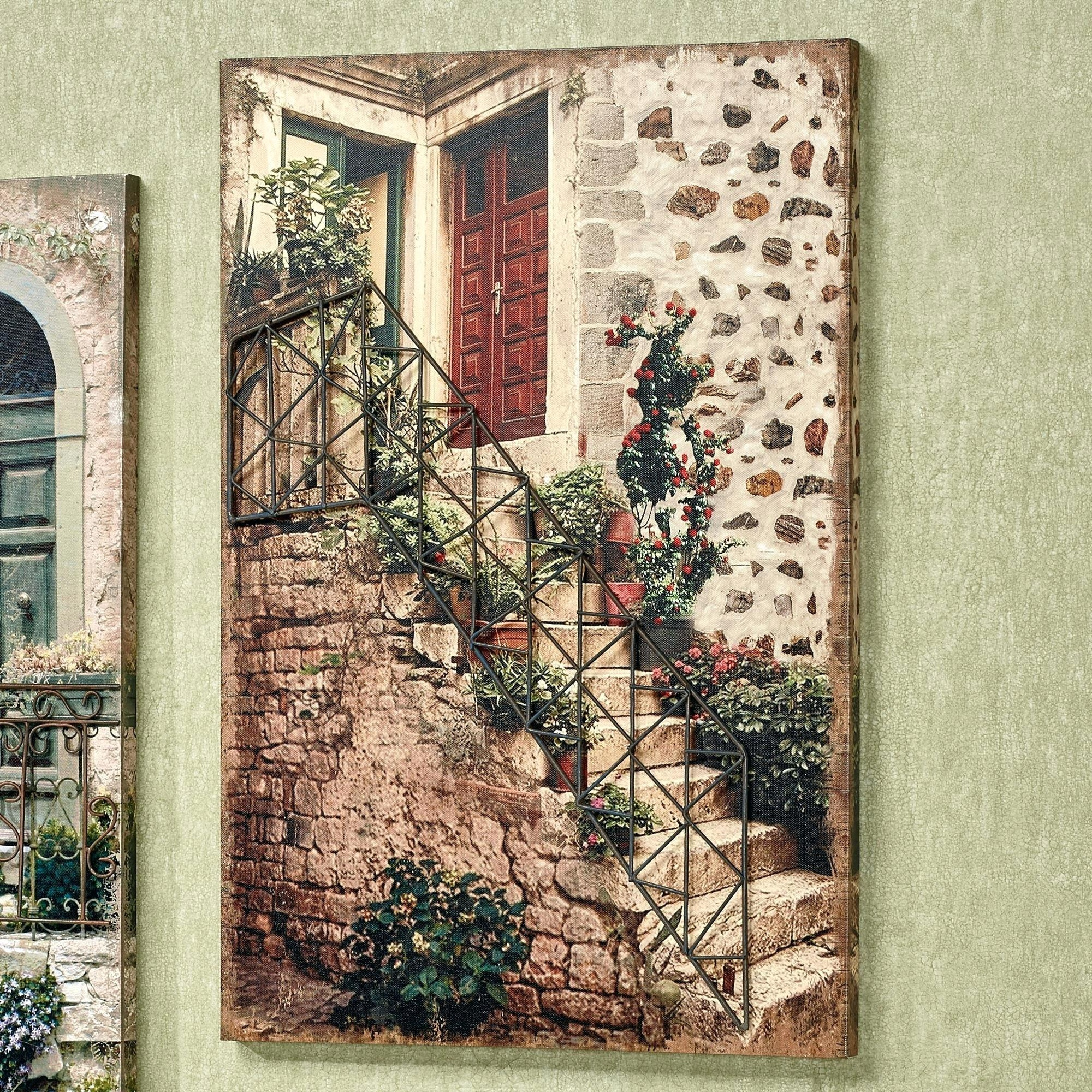 Art For Staircase Wall – Bookpeddler Pertaining To Tuscany Wall Art (Image 1 of 20)