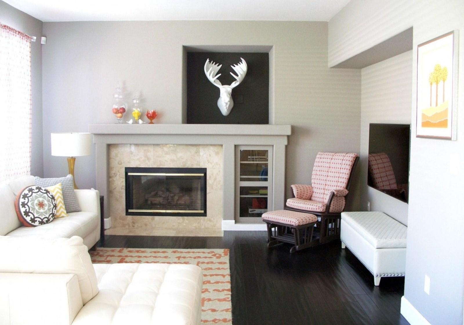 Art Gallery Wall Ideas Above Fireplace For Small Family Room In Fireplace Wall Art (View 5 of 20)