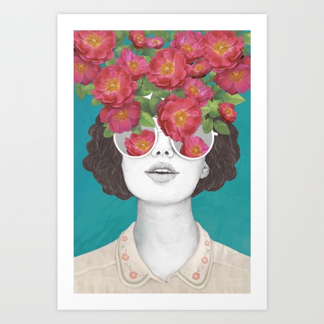 Art Prints | Society6 Inside Vibrant Wall Art (Image 4 of 20)