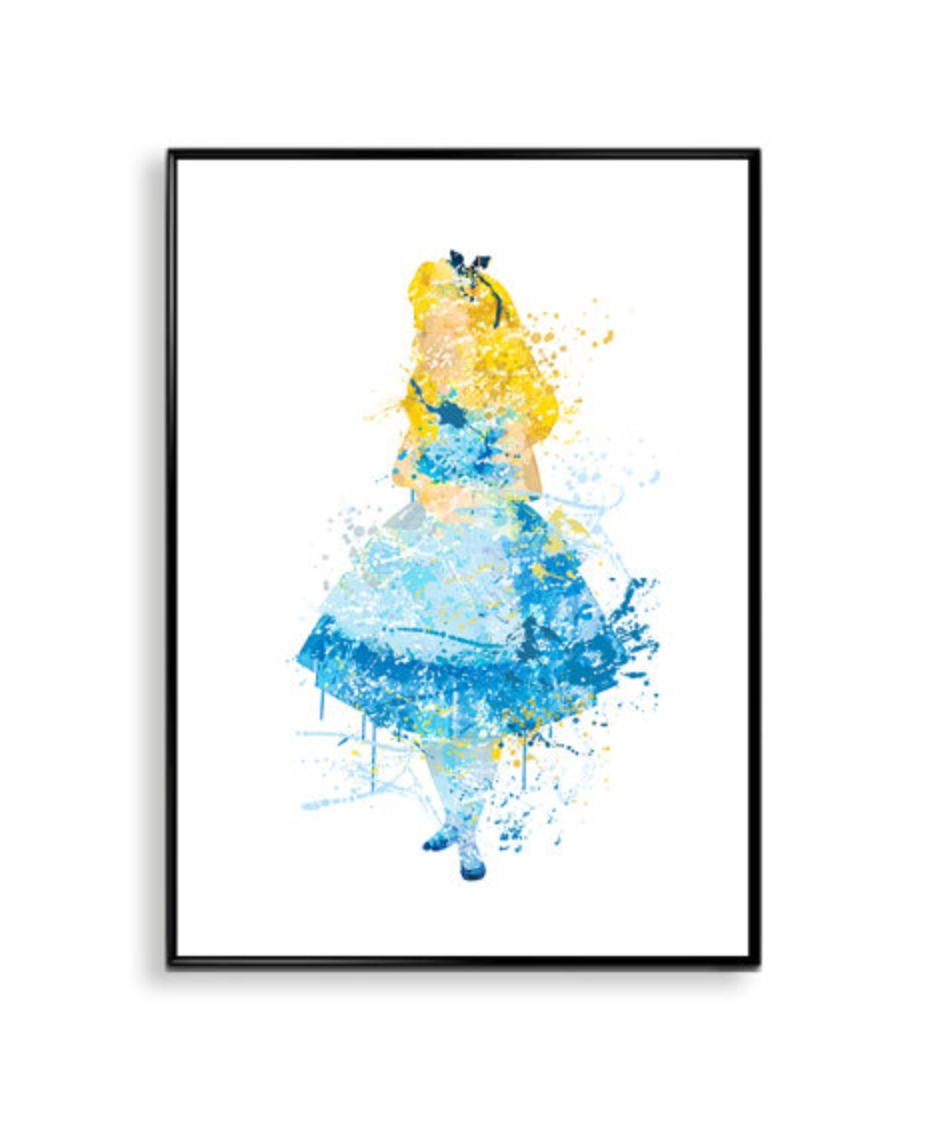 Art R Us  Best Art Print Posters Toronto With Regard To Disney Princess Framed Wall Art (Image 4 of 20)