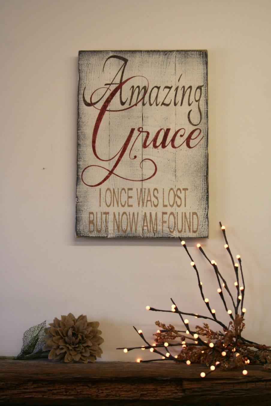 Articles With Amazing Grace Wall Art Tag: Amazing Grace Wall Art Within Grace Wall Art (View 6 of 20)
