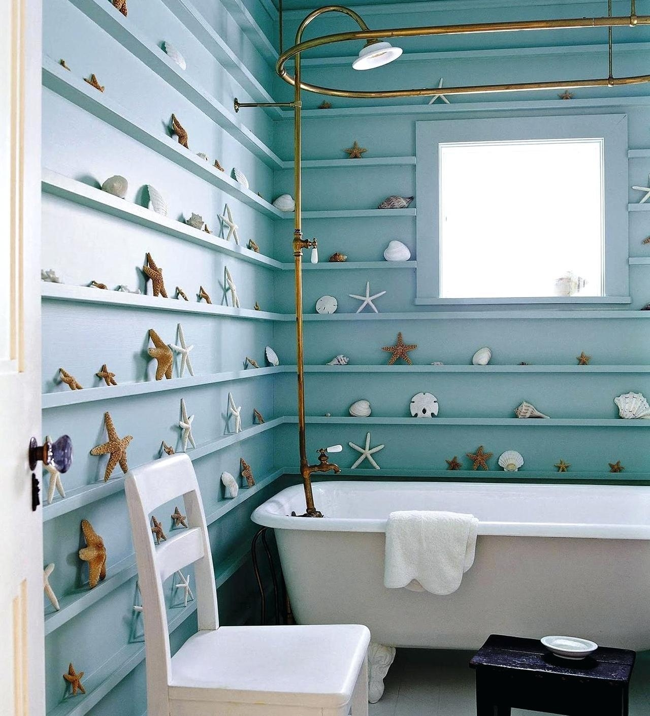 Articles With Beach Wall Art For Bathroom Tag: Beachy Wall Art For Beach Theme Wall Art (Image 1 of 20)