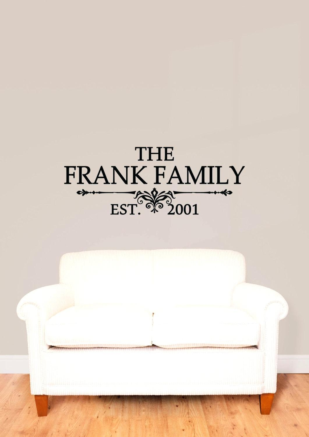 Articles With Custom Family Tree Wall Art Tag: Personalized Family Regarding Personalized Family Wall Art (View 7 of 20)