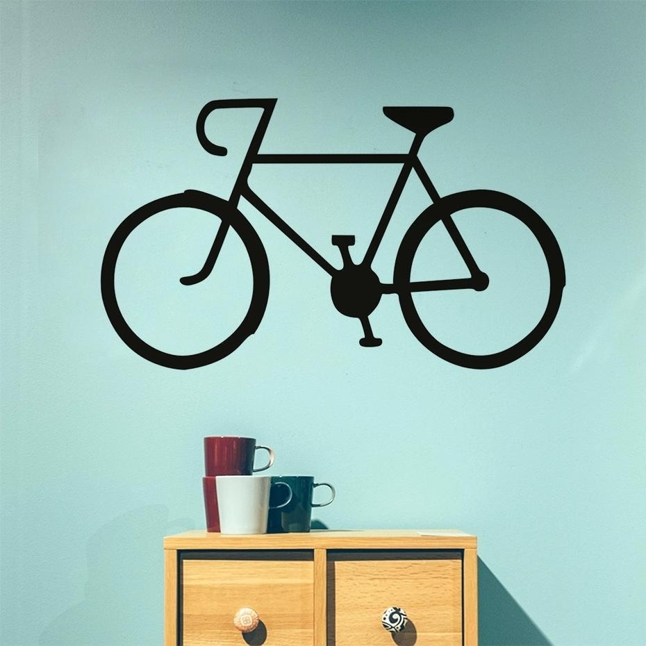 Articles With Dirt Bike Vinyl Wall Art Tag: Bike Wall Art (View 14 of 20)
