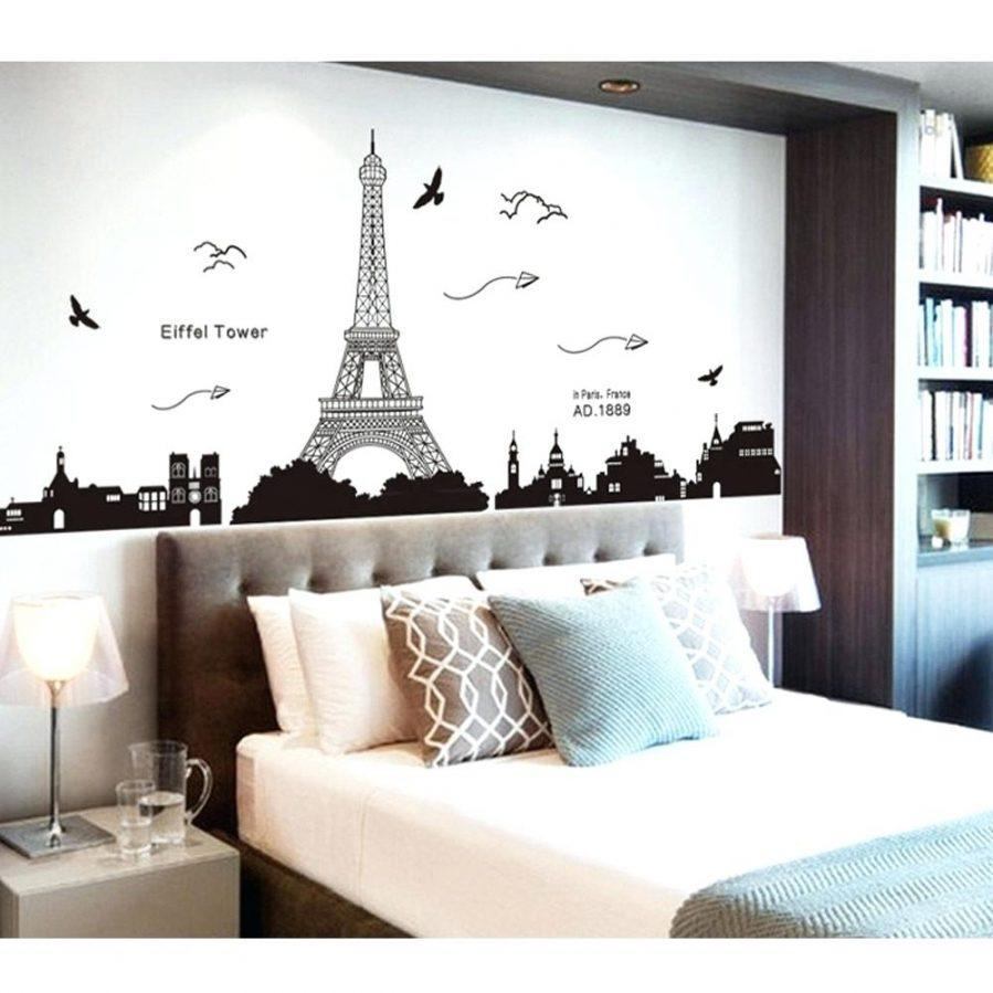 Articles With Eiffel Tower Wall Decor Stickers Tag: Eiffel Tower With Regard To Eiffel Tower Wall Hanging Art (Image 1 of 20)