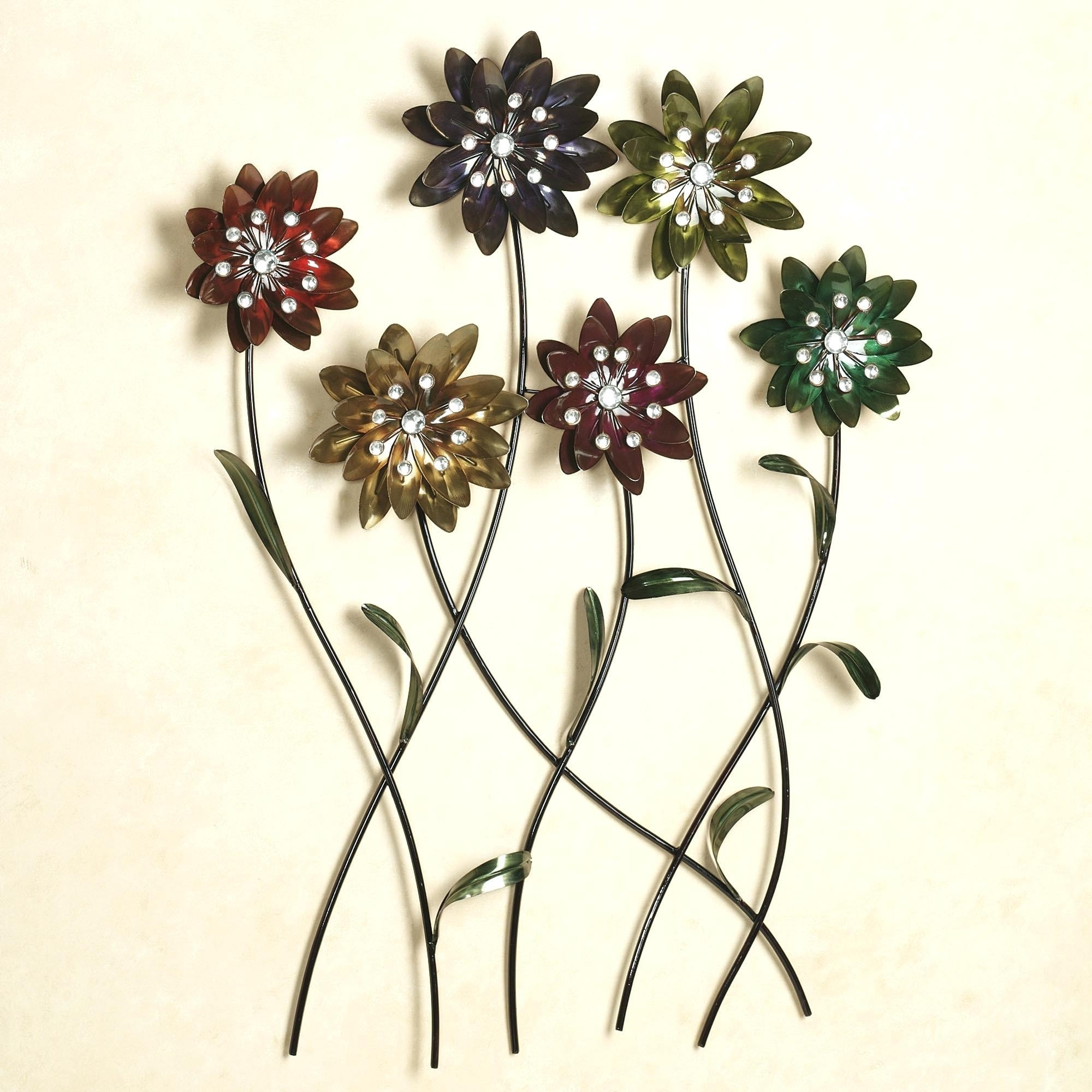 Articles With Metal Wall Art Flowers Uk Tag: Metal Wall Decoration For 3D Metal Wall Art (Image 2 of 20)