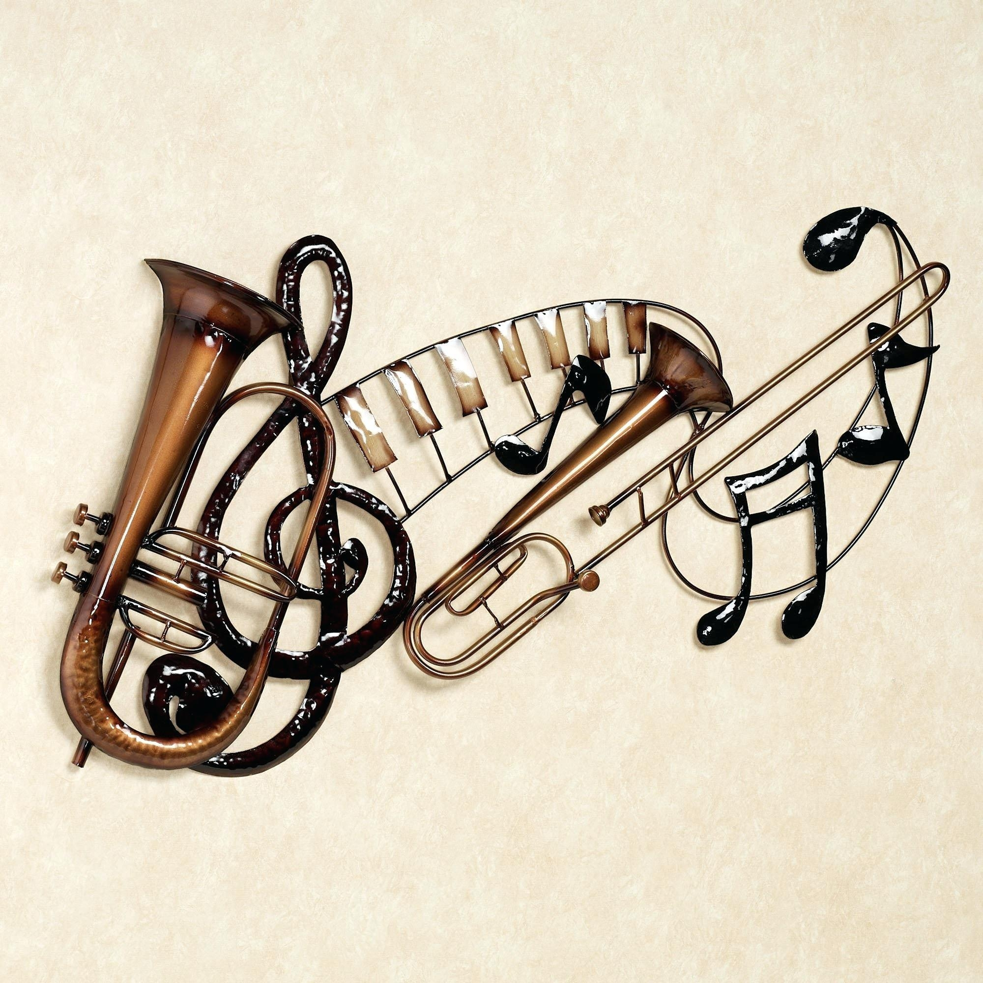 Articles With Wooden Music Note Wall Decor Tag: Musical Wall Decor (Image 4 of 20)