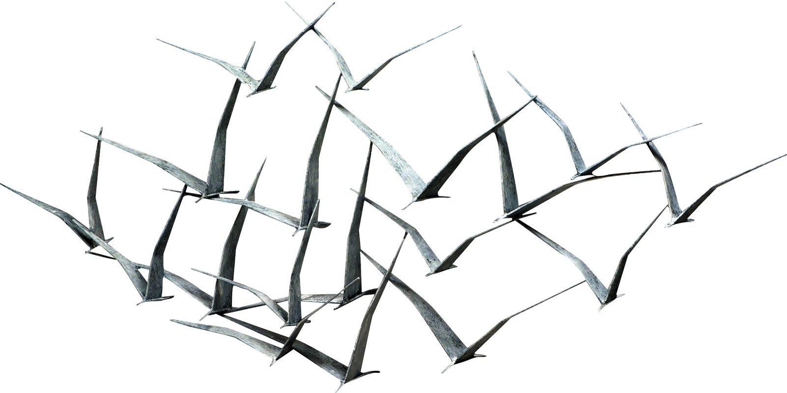 Artisan House Seagulls Wall Décor & Reviews | Wayfair Intended For Metal Wall Art Flock Of Seagulls (View 6 of 20)