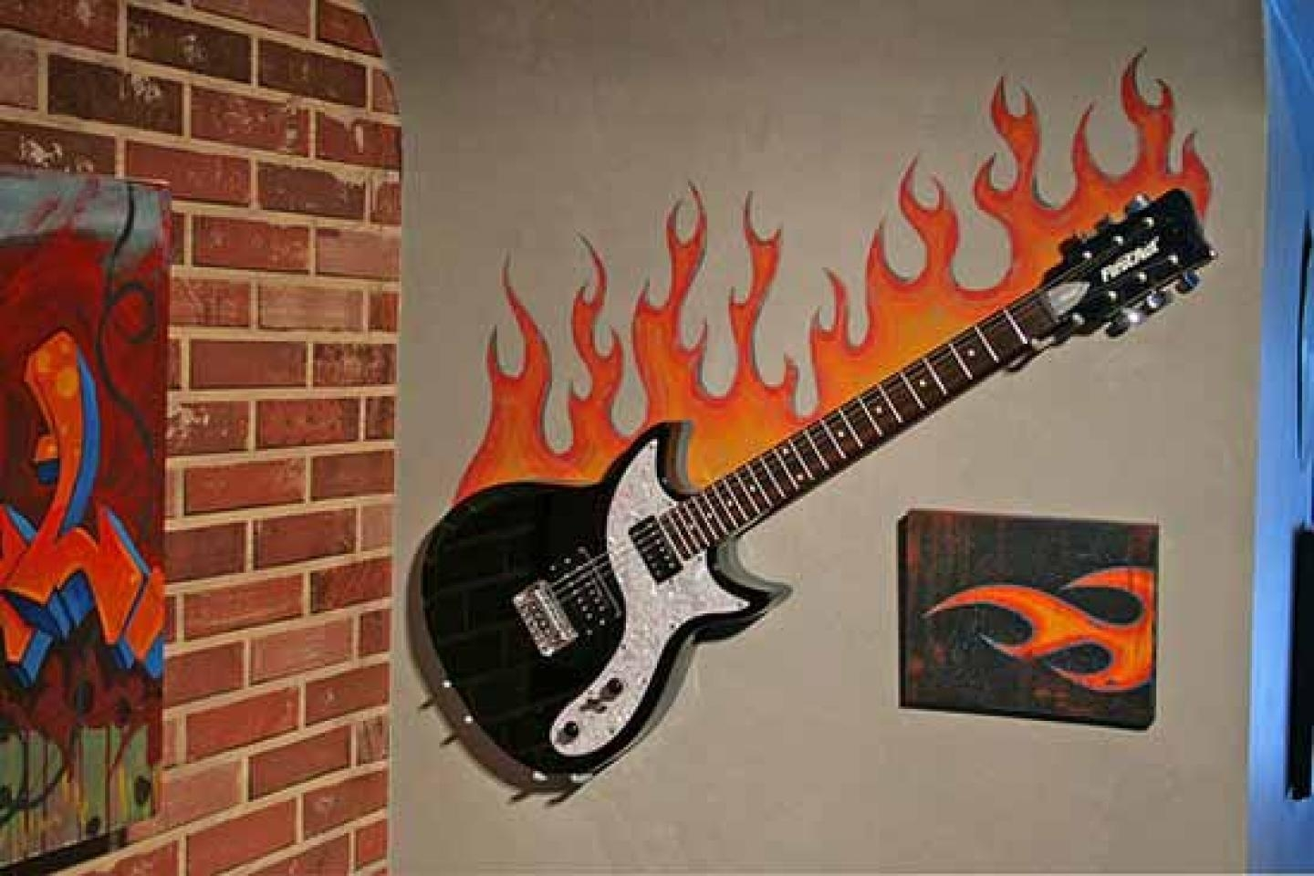 Arts Design Wall Painting For Teens Boy Including Wonderful Orange For Wall Art For Teenagers (Image 3 of 20)