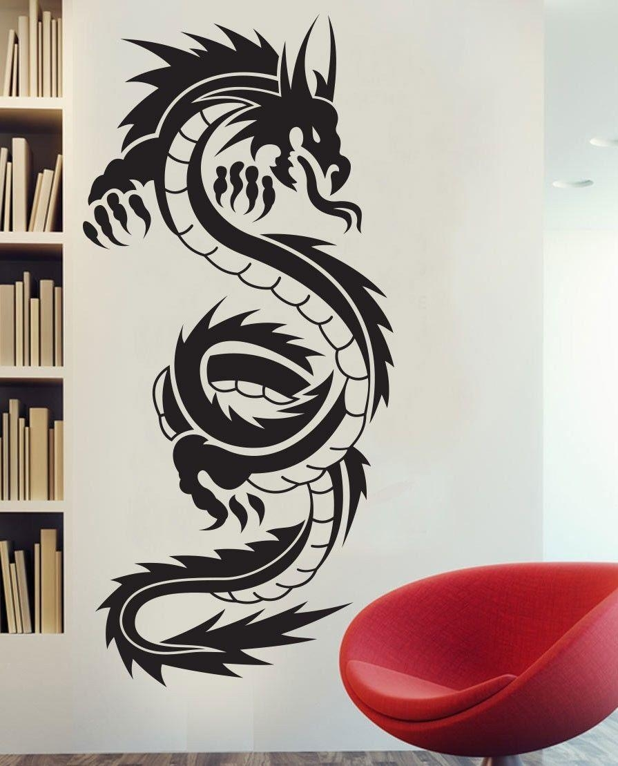 Asian Dragon Wall Decor (View 9 of 20)