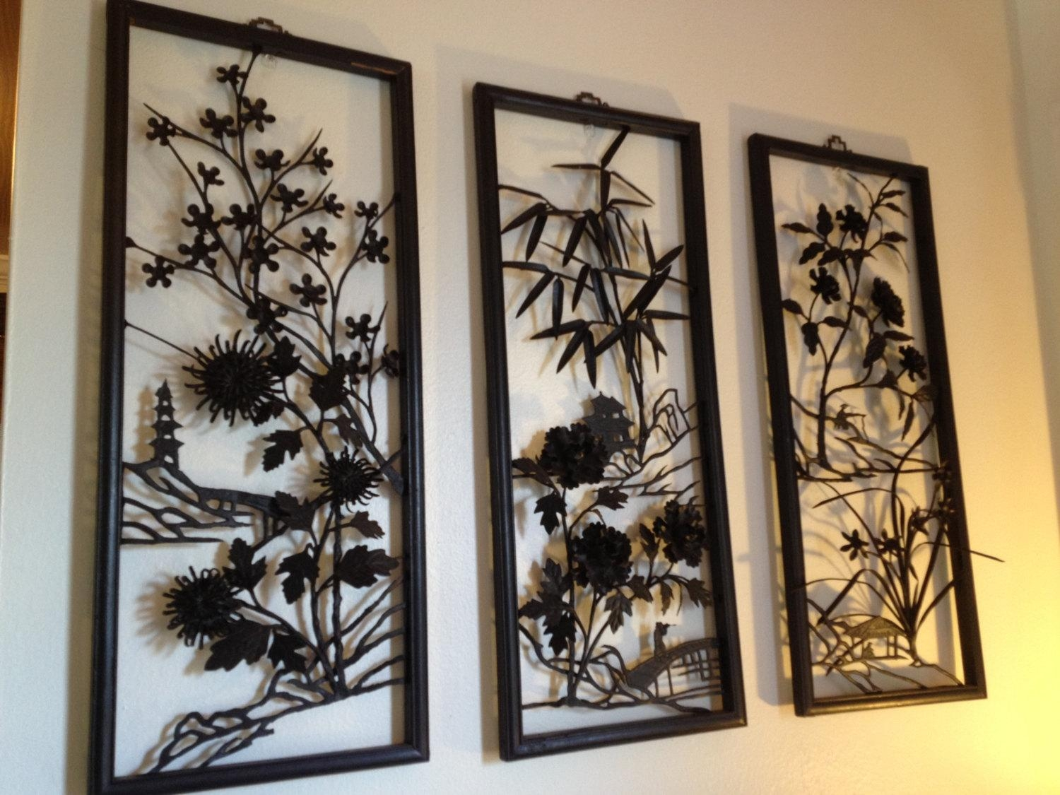 Asian Wall Art | Roselawnlutheran Pertaining To Asian Wall Art Panels (View 9 of 20)