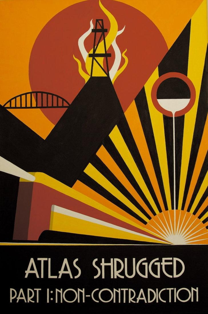 Atlas Shrugged Act 1Decoechoes On Deviantart With Regard To Atlas Shrugged Cover Art (View 8 of 20)