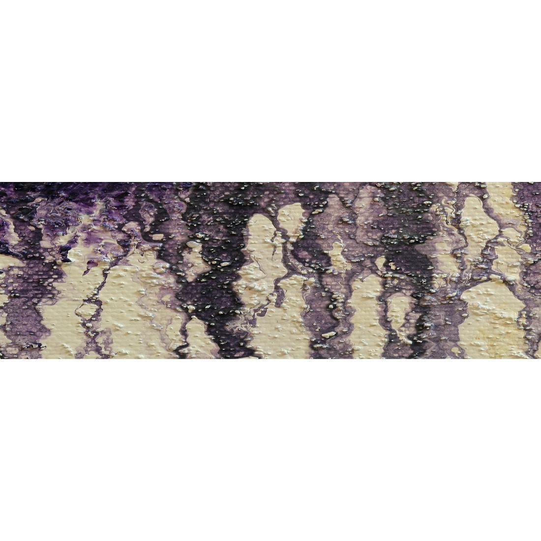 Aubergine Hair (Long) – Canvas Print – Wall Art – Australia With Aubergine Wall Art (View 7 of 20)