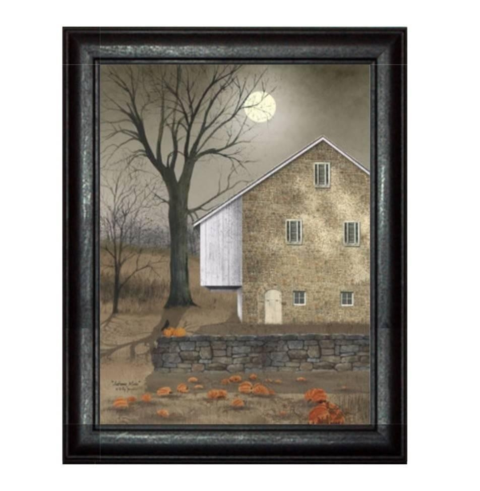 Autumn Moon Printbilly Jacobs – Primitive Country Art – Nana's Intended For Billy Jacobs Framed Wall Art Prints (Image 4 of 20)