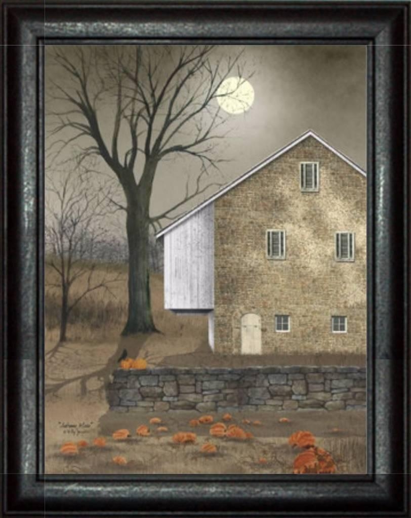 Autumn Moon Printbilly Jacobs – Primitive Country Art – Nana's Regarding Billy Jacobs Framed Wall Art Prints (View 8 of 20)