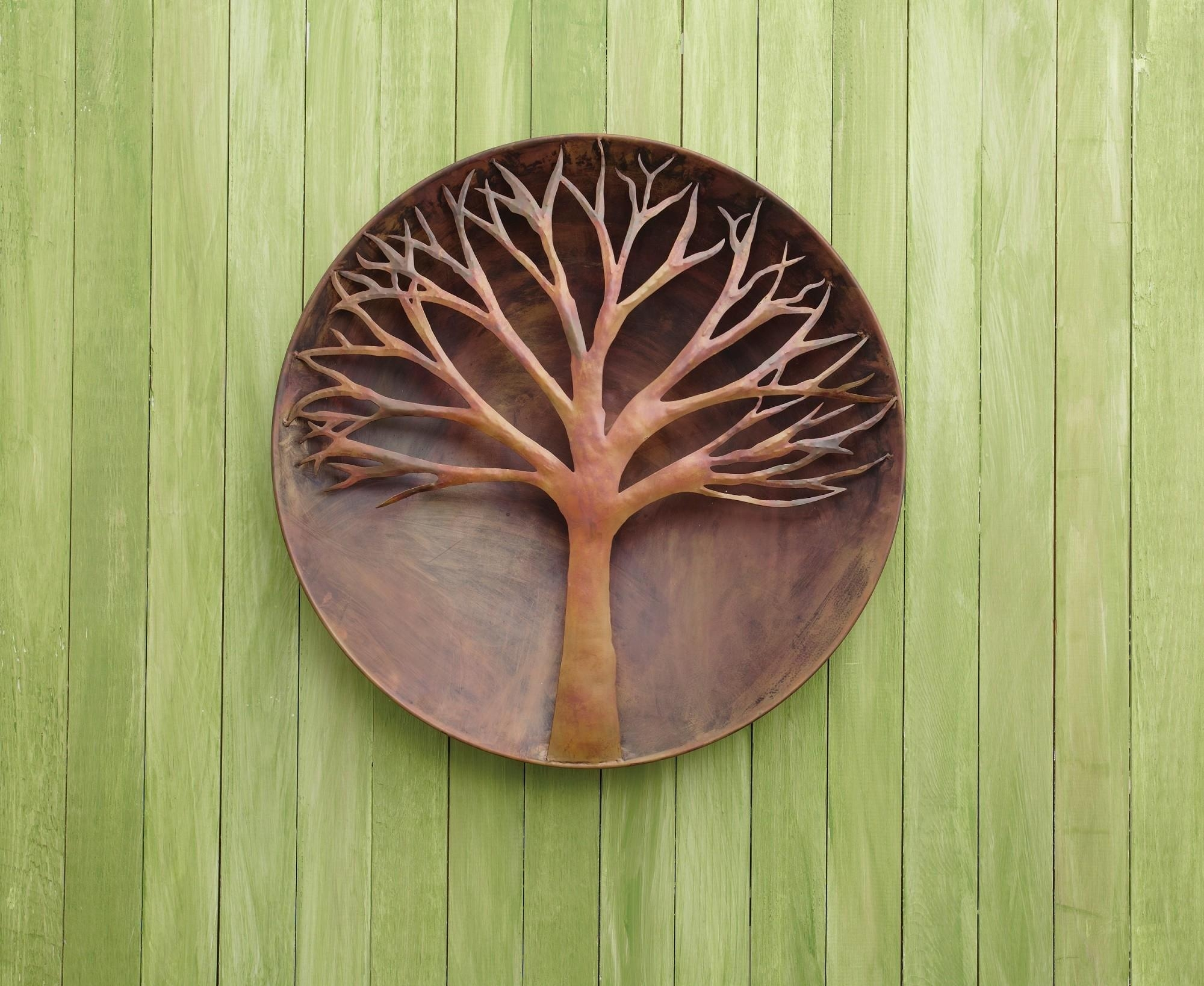 Awesome Design Ideas Of Outdoor Wall Art. Decorating (Image 1 of 20)