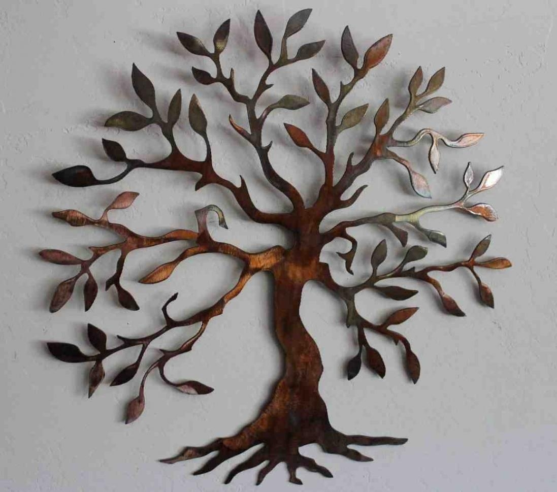 Awesome Metal Wall Art Decor And Sculptures Intended For Asian Metal Wall Art (Image 5 of 20)