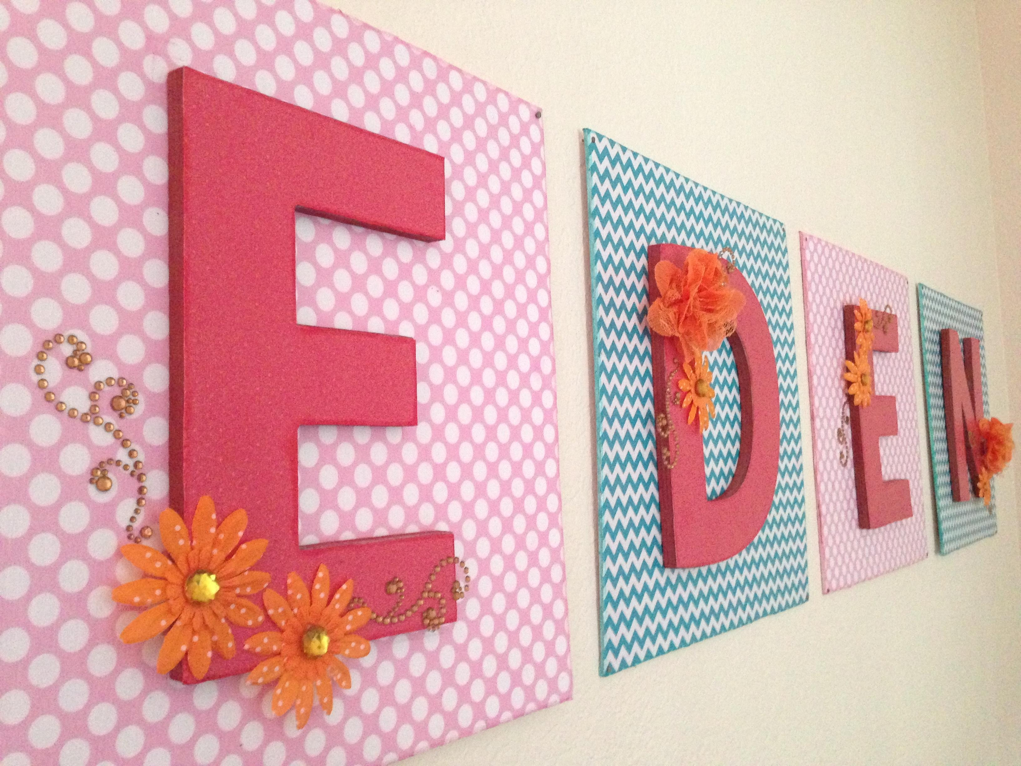 Baby Name Art Simply Simple Name Wall Art – Home Decor Ideas Throughout Baby Name Wall Art (Image 2 of 20)